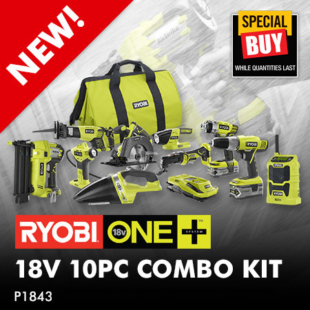 18V ONE+ 10 pc Combo Kit