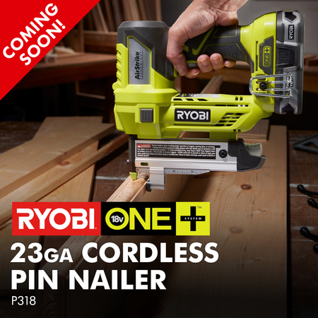18V ONE+ 23ga Cordless Pin Nailer
