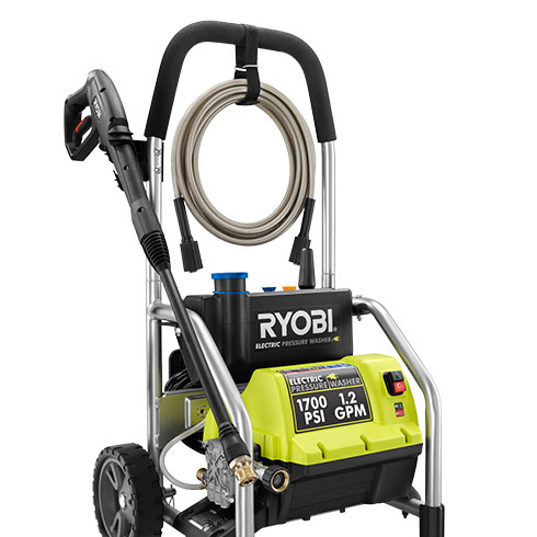 ryobi electric pressure washer manual
